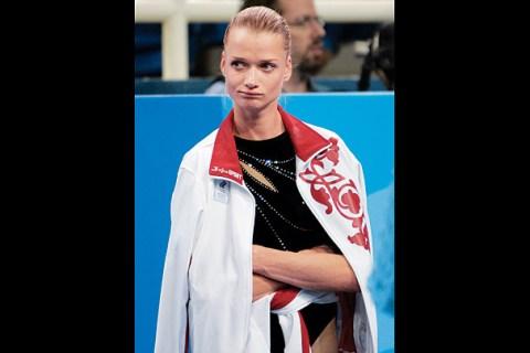 Russia's Svetlana Khorkina