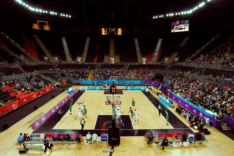London 2012 Basketball Arena