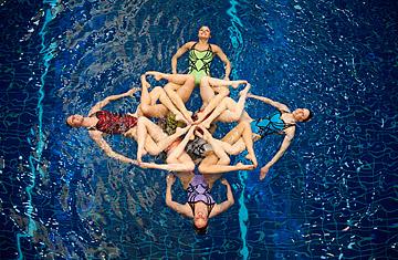 U.S. synchronized swimmers