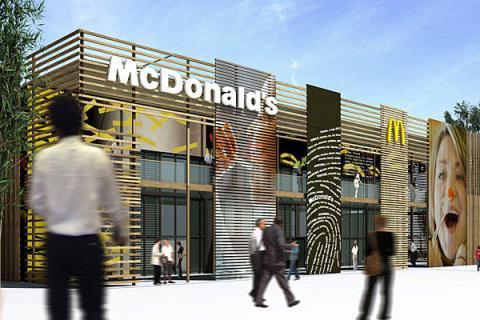 London McDonald's