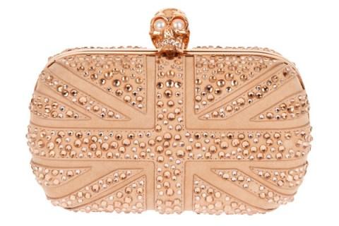 15 Alexander McQueen Union Jack clutch