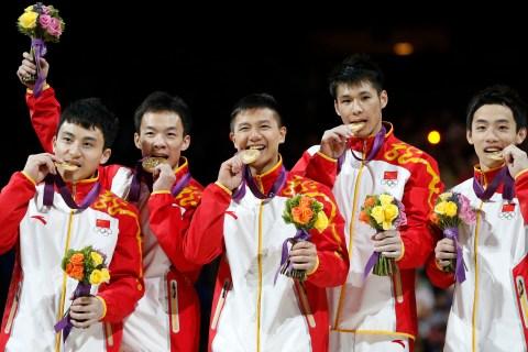 China's gymnasts