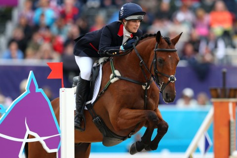 Olympics Day 4 Zara Phillips