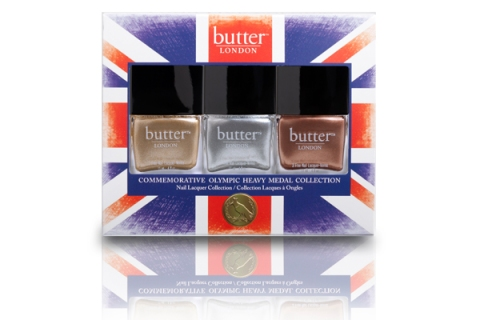 3 Butter London Olympic Heavy Medal Collection nail polish