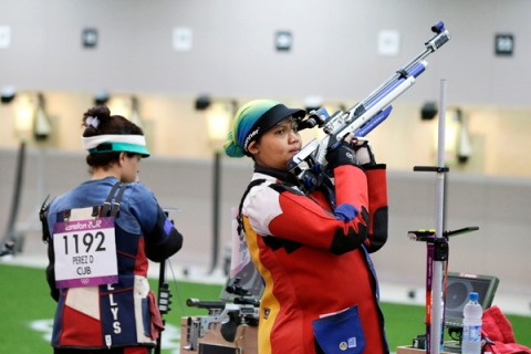 London Olympics Shooting Women