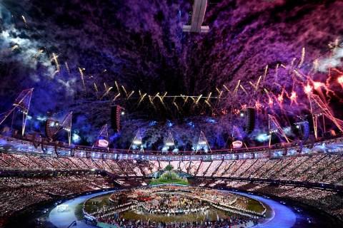 Olympics-Fireworks