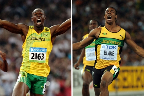 Usain Bolt vs. Yohan Blake
