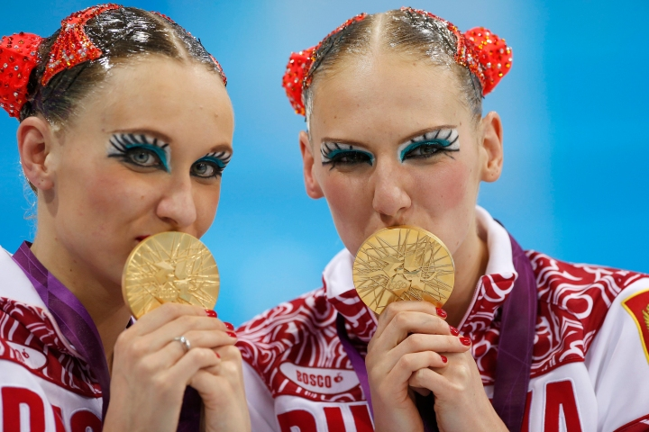 Natalia Ishchenko and Svetlana Romashina's Synchronized Shadow