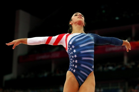 Aly Raisman Wins Gold