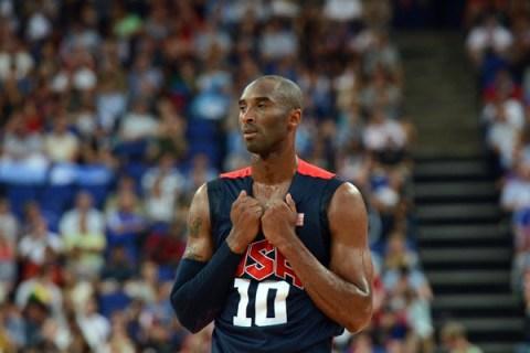 U.S. guard Kobe Bryant