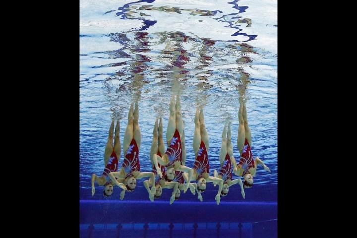 Olympics Duet Synchronized Swimming