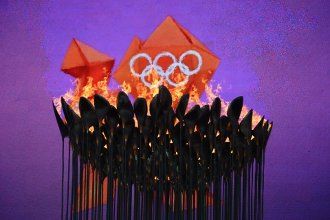 Pigments of Imagination: Colors of the Olympics