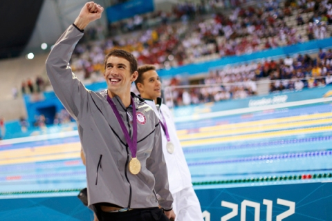 Phelps Gold 100m Butterfly