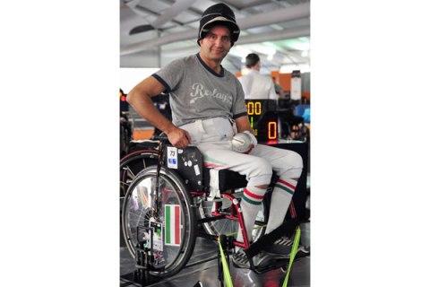 Paralympic Athlete Pal Szekeres