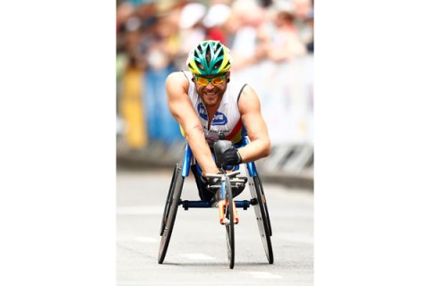 Paralympic Athlete Kurt Fearnley