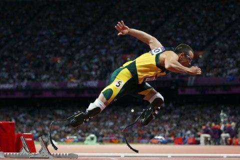 Paralympic Athlete Oscar Pistorius