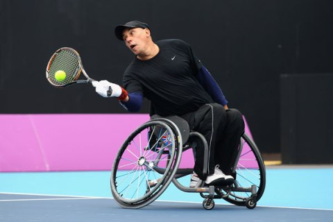 Paralympic Athlete Peter Norfolk
