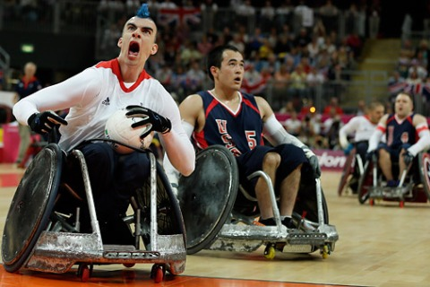 London Paralympics Wheelchair Rugby